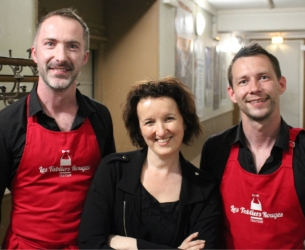 Catering pour le spectacle d'Anne Roumanoff